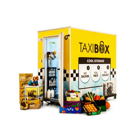TAXIBOX's state-of-the-art digital cooling system