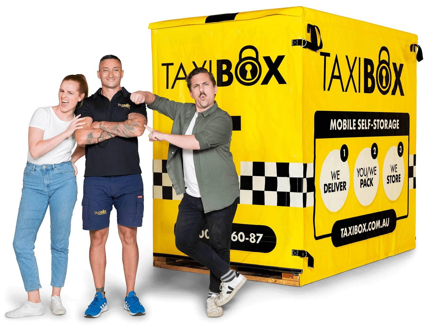TAXIBOX Mobile Storage