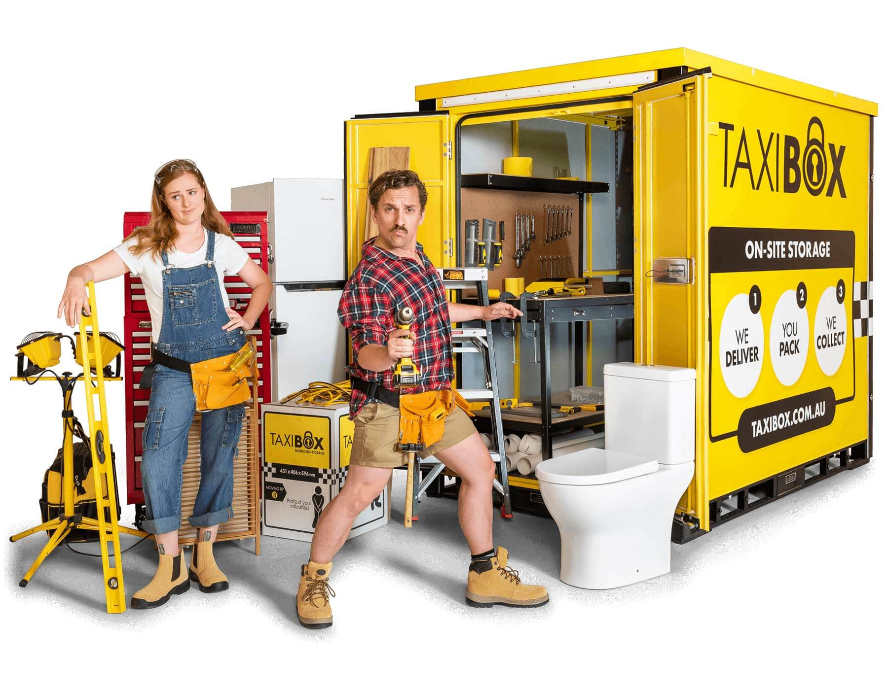 TAXIBOX - Mobile storage, On-site Storage and Cool Storage