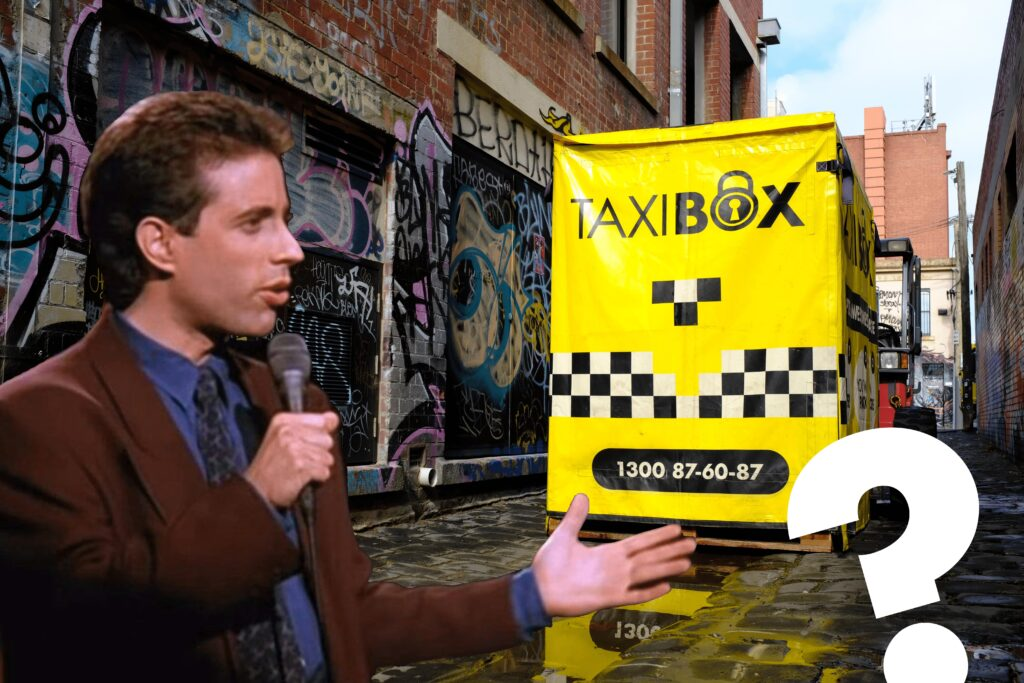 Jerry Seinfeld wants to know what the deal with TAXIBOX is
