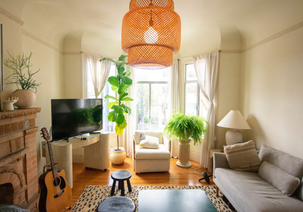 How to install new light fixtures in a rental to create a warm, inviting space