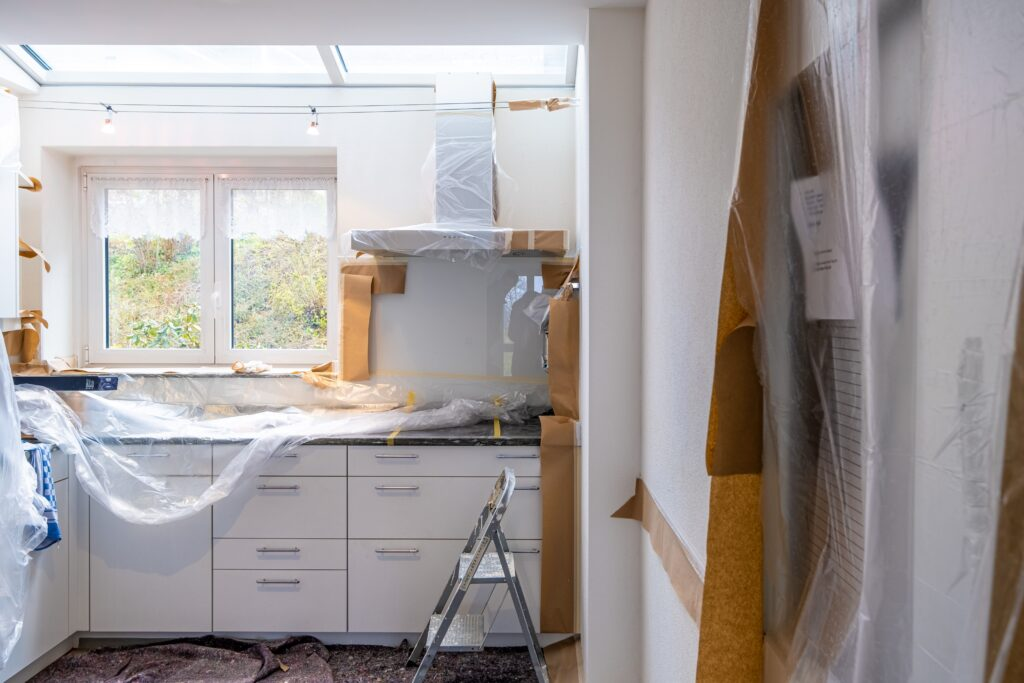 Home renovation organisation project