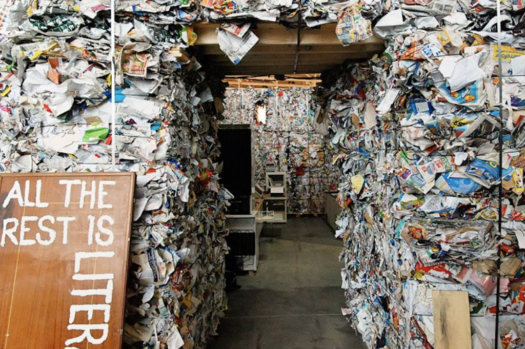Learning to live a zero waste lifestyle in a litter inspired home
