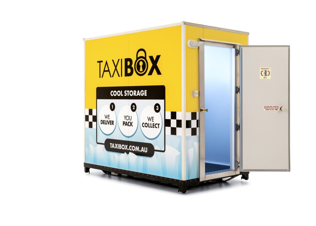 TAXIBOX Cool Storage solutions for your next event